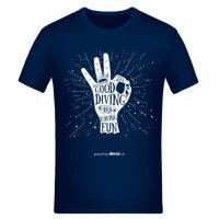 T-Shirt Basic Herren Having Fun | Größe: XXL |...