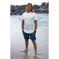 T-Shirt Slim Fit Herren Waves