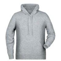 Hoodie Herren Logo | Größe: M | Farbe: Grau |...