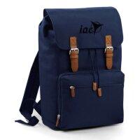 Rucksack Blau schwarz