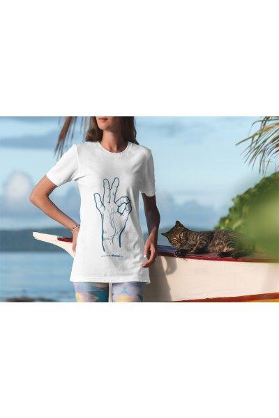T-Shirt Basic Damen Ok