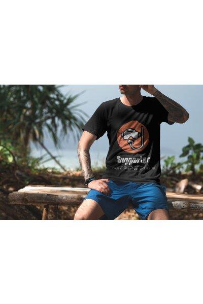 T-Shirt Basic Herren Supporter
