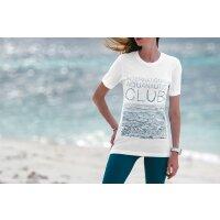 T-Shirt Basic Damen Waves